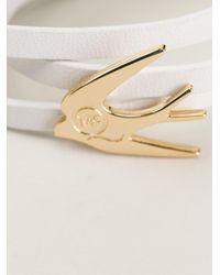 Bracelet hirondelle McQ Alexander McQueen en coloris White