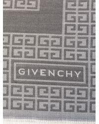 Givenchy プリントスカーフ Gray