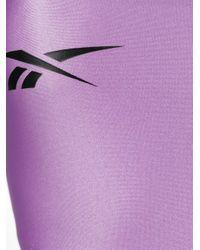 Reebok X Misbhv ワンピース水着 Purple
