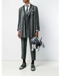 Фактурная Сумка Hector Thom Browne для него, цвет: Gray