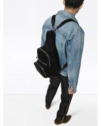 Sac à dos à poches zippées Amiri pour homme en coloris Black