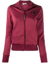 Куртка На Молнии С Логотипом Ff Fendi, цвет: Red