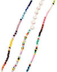Anni Lu Baja And Alaia ビーズ ブレスレットセット Multicolor