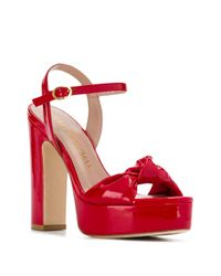 Sandales Mirri 130 Stuart Weitzman en coloris Red