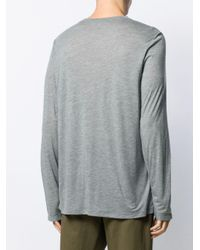 Lightweight longline sweater Isabel Marant pour homme en coloris Gray