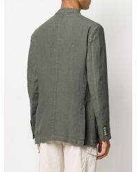 Altea Green Double-breasted Blazer for men