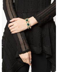 Shourouk Metallic Ritz Bracelet Cuff