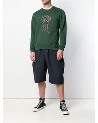 Societe Anonyme Blue Bonsergent Oversized Shorts