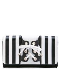PERRIN Paris Black Mini 'Le Corset' Clutch