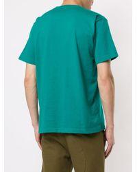 メンズ White Mountaineering パッチワーク Tシャツ Multicolor