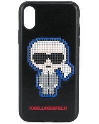 Karl Lagerfeld Pixel Karl Iphone X/xs ケース Black