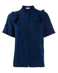 Zadig & Voltaire Blue Guitar Print Shirt