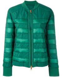 Moncler Green Brulee Cropped Jacket
