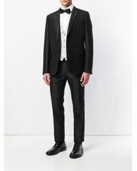Dell'Oglio Gray Classic Formal Waistcoat for men