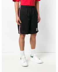 Alexander Wang Black Basketball Shorts for men