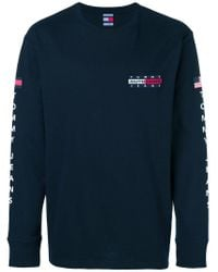 T-shirt Expedition di Tommy Hilfiger in Blue da Uomo