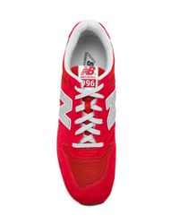 New Balance Red 996 Sneakers for men