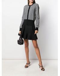 Dolce & Gabbana ハウンドトゥース カーディガン Black