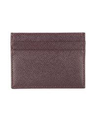 Porte-cartes Dauphine Dolce & Gabbana en coloris Brown
