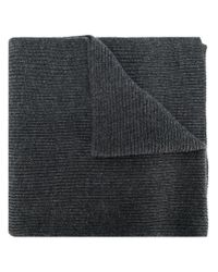 Polo Ralph Lauren - Gray Ribbed Scarf for Men - Lyst