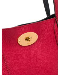 Sac à main Bayswater Mulberry en coloris Red