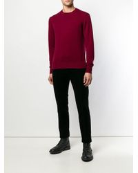Undercover Red Astronaut Patch Knitted Sweatshirt for men