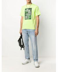 メンズ Daily Paper Hensha Tシャツ Green