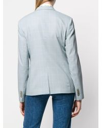 Blazer à carreaux Paul Smith en coloris Blue