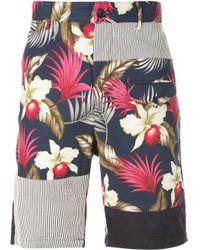 メンズ Engineered Garments Hawaiian ショーツ Multicolor