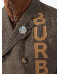 メンズ Burberry ボトルキャップ ブローチ Multicolor