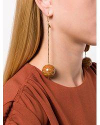 Rosantica - Multicolor Bamboo Pendant Earrings - Lyst