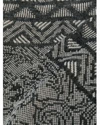 Носки С Принтом Etro для него, цвет: Gray