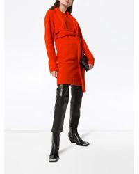 Bottega Veneta ニットドレス Red