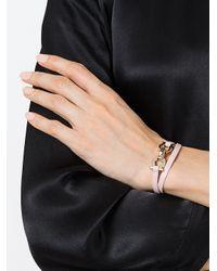 Bracelet Gancio Ferragamo en coloris Pink