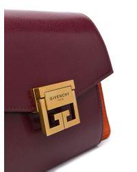 Bolso de hombro GV3 pequeño Givenchy de color Red