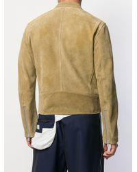 メンズ Maison Margiela ライダースジャケット Multicolor