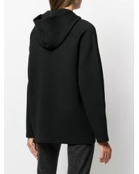 Woolrich フーデッド クロップドジャケット Black