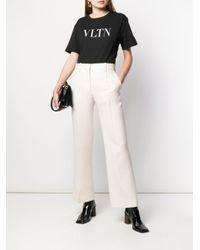 Valentino Vltn Tシャツ Black