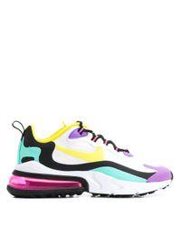 Nike White Air Max 270 React Sneakers