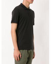 メンズ Osklen クラシック ポロシャツ Black