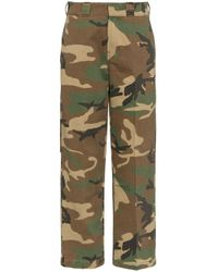R13 Green Hose mit Camouflagemuster