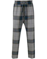 メンズ Vivienne Westwood タータンチェック パンツ Multicolor