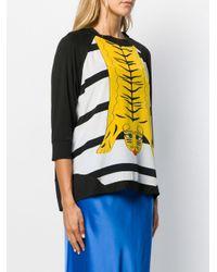 Maglione con stampa di Ultrachic in Multicolor