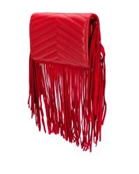 Pinko Red 'Love Simply' Schultertasche