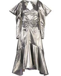 Rejina Pyo メタリック ドレス Metallic