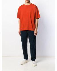 Camiseta básica YMC de hombre de color Orange