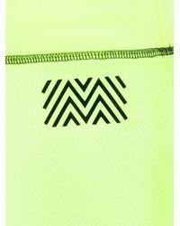 Monreal London - Green Scalloped Trim Shorts - Lyst