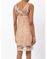 Givenchy Pink Flowers Lace Dress