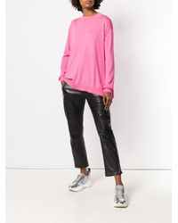 Stella McCartney Pink Loose Fitted Sweater