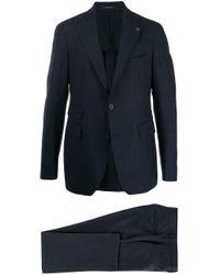 メンズ Tagliatore ツーピース スーツ Blue